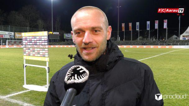Video-Cover: FC Aarau - Servette FC 3:3 (01.03.2019, Stimmen zum Spiel)