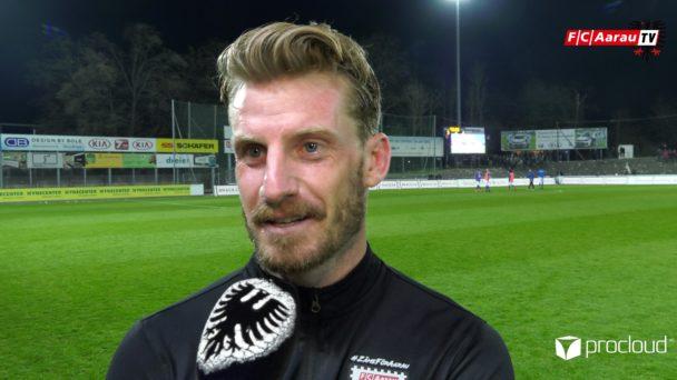 Video-Cover: FC Aarau - FC Schaffhausen 3:2 (30.03.2019, Stimmen zum Spiel)