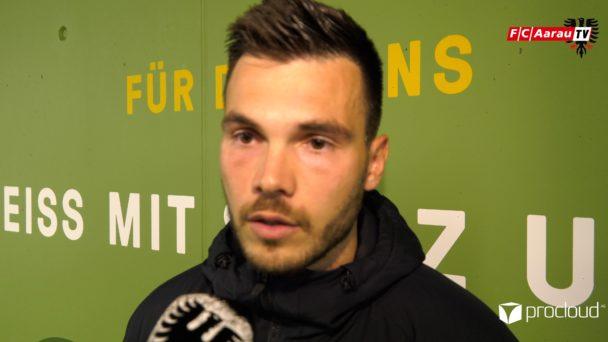 Video-Cover: SC Kriens - FC Aarau 2:2 (02.04.2019, Stimmen zum Spiel)