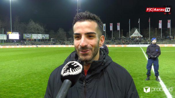 Video-Cover: FC Aarau - FC Vaduz 3:0 (06.04.2019, Stimmen zum Spiel)