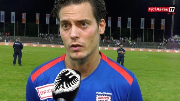 Video-Cover: FC Aarau - SC Kriens 0:2 (04.08.2018, Stimmen zum Spiel)