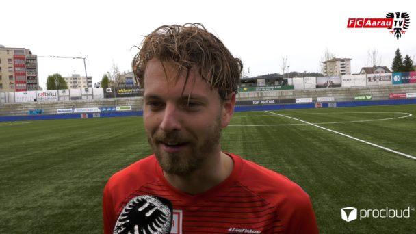 Video-Cover: FC Wil - FC Aarau 0:4 (22.04.2019, Stimmen zum Spiel)