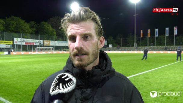 Video-Cover: FC Aarau - SC Kriens 1:1 (15.05.2019, Stimmen zum Spiel)