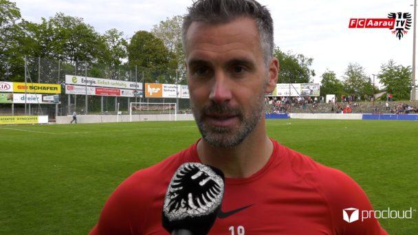 Video-Cover: FC Aarau - FC Rapperswil-Jona 1:0 (26.05.2019, Stimmen zum Spiel)