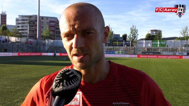 Video-Cover: FC Wil - FC Aarau 2:0 (11.08.2018, Stimmen zum Spiel)