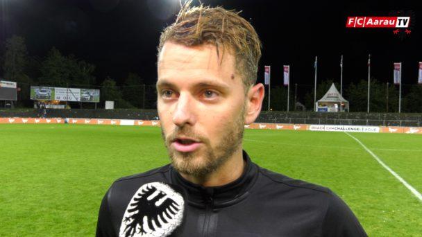 Video-Cover: FC Aarau - FC Chiasso 1:2 (25.08.2018, Stimmen zum Spiel)