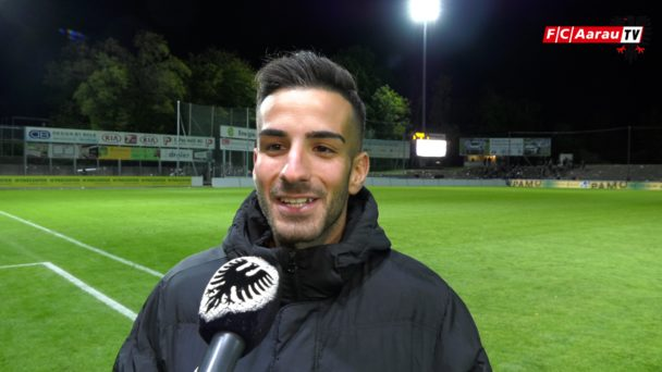 Video-Cover: FC Aarau - FC Schaffhausen 3:1 (25.09.2018, Stimmen zum Spiel)