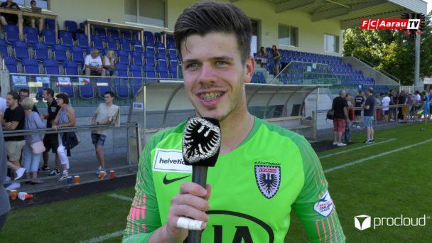 Video-Cover: SC Cham - FC Aarau 3:5 n.E. (18.08.2019, Helvetia Schweizer Cup, Stimmen zum Spiel)