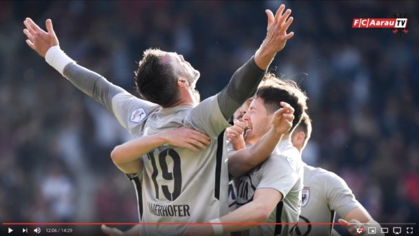 Video-Cover: FC Aarau Saison 2018/19
