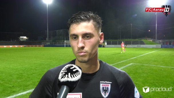 Video-Cover: FC Aarau - FC Lausanne-Sport 1:3 (19.10.2019, Stimmen zum Spiel)