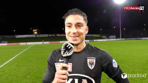 Video-Cover: FC Stade Lausanne Ouchy - FC Aarau 0:2 (02.11.2019, Stimmen zum Spiel)