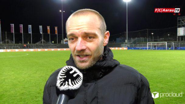 Video-Cover: FC Aarau - FC Winterthur 2:2 (29.11.2019, Stimmen zum Spiel)