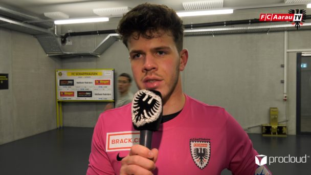 Video-Cover: FC Schaffhausen - FC Aarau 0:0 (06.12.2019, Stimmen zum Spiel)