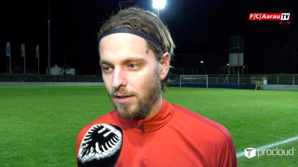 Video-Cover: FC Aarau - FC Chiasso 3:3 (15.12.2019, Stimmen zum Spiel)