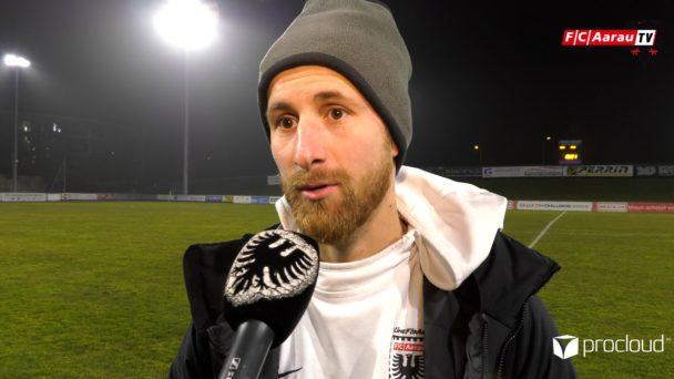 Video-Cover: FC Stade Lausanne Ouchy - FC Aarau 0:2 (25.01.2020, Stimmen zum Spiel)