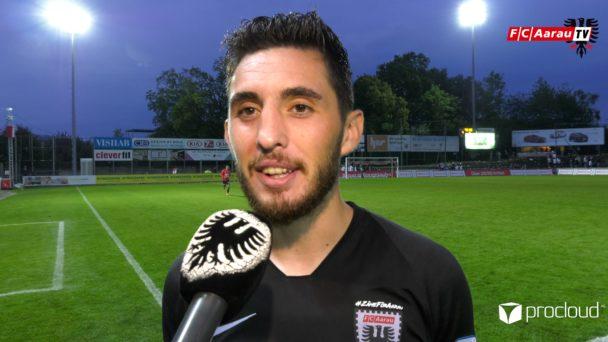 Video-Cover: FC Aarau - SC Kriens 4:1 (27.07.2019, Stimmen zum Spiel)