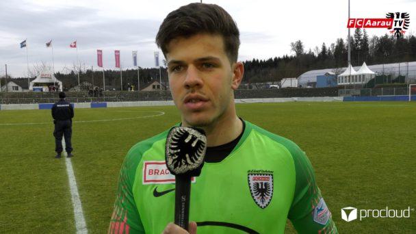 Video-Cover: FC Aarau - FC Vaduz 1:2 (09.02.2020, Stimmen zum Spiel)