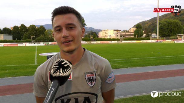 Video-Cover: FC Chiasso - FC Aarau 1:3 (26.06.2020, Stimmen zum Spiel)