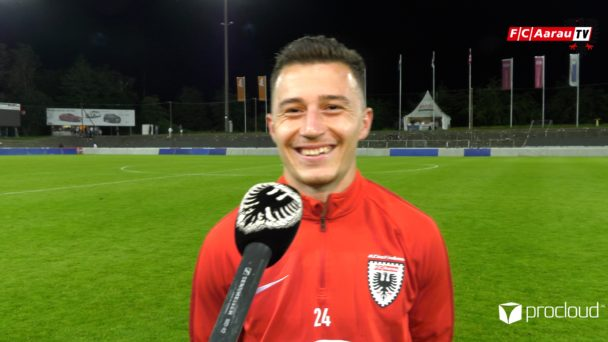 Video-Cover: FC Aarau - FC Lausanne-Sport 5:4 (03.07.2020, Stimmen zum Spiel)