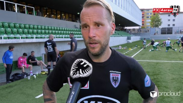 Video-Cover: SC Kriens - FC Aarau 4:1 (08.07.2020, Stimmen zum Spiel)