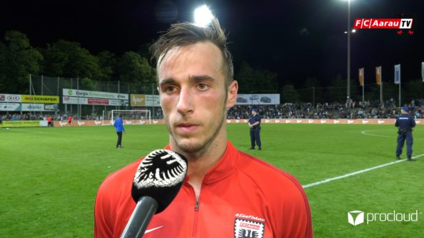 Video-Cover: FC Aarau - Grasshopper Club Zürich 1:2 (02.08.2019, Stimmen zum Spiel)