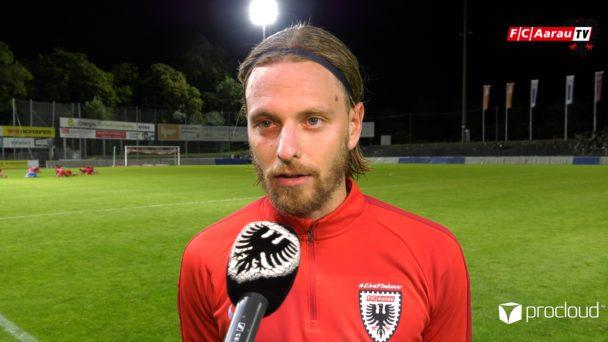 Video-Cover: FC Aarau - FC Winterthur 2:3 (11.07.2020, Stimmen zum Spiel)