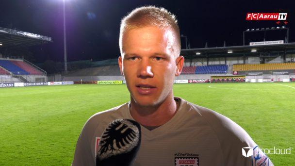 Video-Cover: FC Vaduz - FC Aarau 1:1 (14.07.2020, Stimmen zum Spiel)