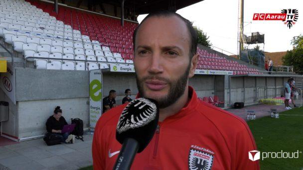 Video-Cover: FC Aarau - FC Stade Lausanne Ouchy 1:3 (18.07.2020, Stimmen zum Spiel)