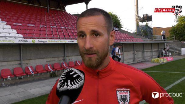 Video-Cover: FC Aarau - FC Chiasso 2:2 (21.07.2020, Stimmen zum Spiel)