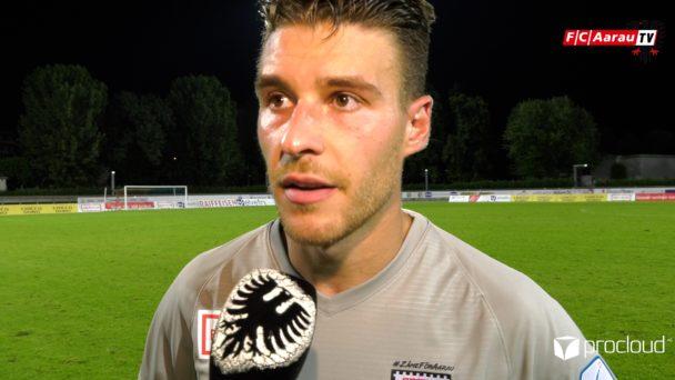 Video-Cover: FC Chiasso - FC Aarau 4:2 (08.08.2019, Stimmen zum Spiel)