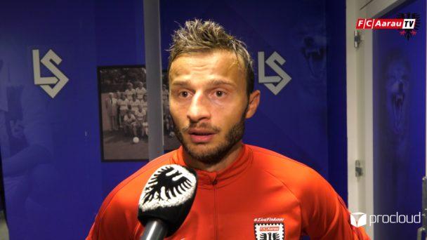 Video-Cover: FC Lausanne-Sport - FC Aarau 5:1 (24.08.2019, Stimmen zum Spiel)