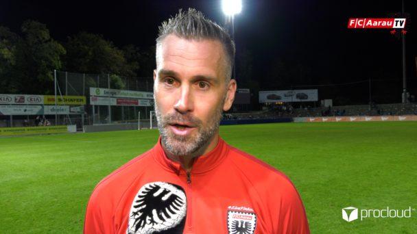 Video-Cover: FC Aarau - FC Schaffhausen 3:1 (21.09.2019, Stimmen zum Spiel)