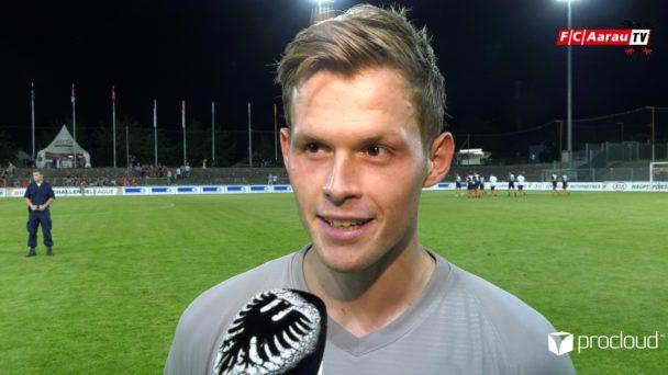 Video-Cover: FC Aarau - FC Wil 1:0 (31.08.2019, Stimmen zum Spiel)