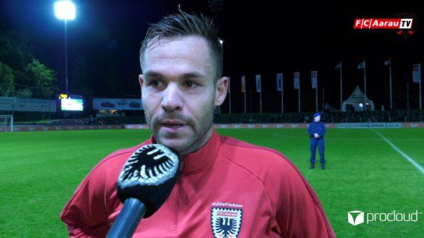 Video-Cover: FC Aarau - FC Stade Lausanne Ouchy 1:1 (24.09.2019, Stimmen zum Spiel)
