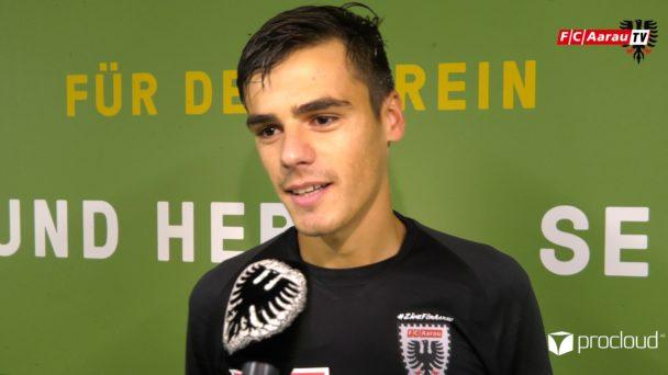 Video-Cover: SC Kriens - FC Aarau 2:3 (05.10.2019, Stimmen zum Spiel)
