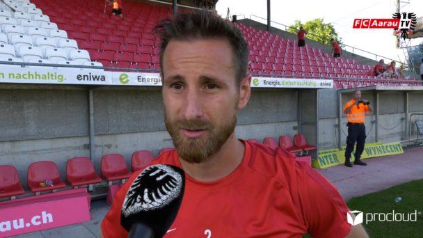 Video-Cover: FC Aarau - FC Sion 1:2 (15.09.2019, Stimmen zum Spiel)