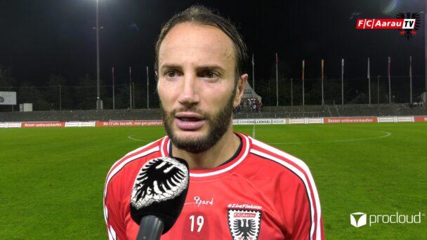 Video-Cover: FC Aarau - FC Wil 1:3 (19.09.2020, Stimmen zum Spiel)