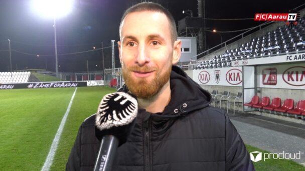 Video-Cover: FC Aarau - FC Winterthur 3:1 (27.11.2020, Stimmen zum Spiel)