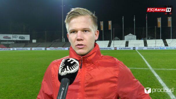 Video-Cover: FC Aarau - FC Stade Lausanne Ouchy 3:3 (11.12.2020, Stimmen zum Spiel)
