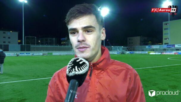 Video-Cover: SC Kriens - FC Aarau 1:3 (15.12.2020, Stimmen zum Spiel)