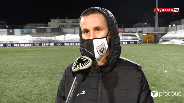 Video-Cover: FC Wil - FC Aarau 3:1 (23.01.2021, Stimmen zum Spiel)