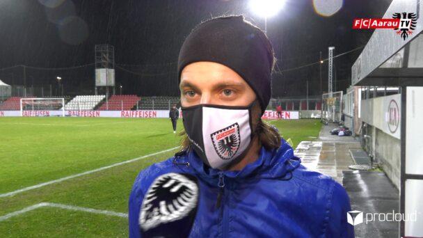 Video-Cover: FC Aarau - FC Schaffhausen 1:2 (02.02.2021, Stimmen zum Spiel)