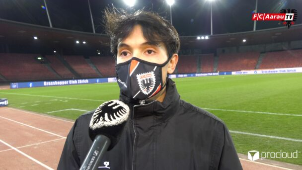 Video-Cover: Grasshopper Club Zürich - FC Aarau 2:1 (16.02.2021, Stimmen zum Spiel)