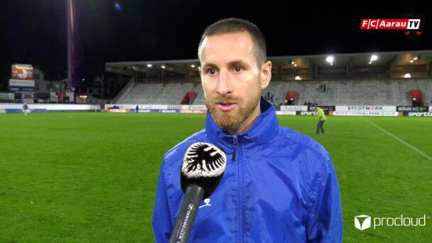 Video-Cover: FC Winterthur - FC Aarau 5:2 (25.09.2020, Stimmen zum Spiel)