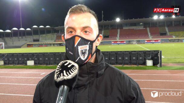 Video-Cover: FC Stade Lausanne Ouchy - FC Aarau 1:1 (19.02.2021, Stimmen zum Spiel)