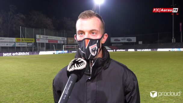 Video-Cover: FC Aarau - FC Thun 4:2 (02.03.2021, Stimmen zum Spiel)