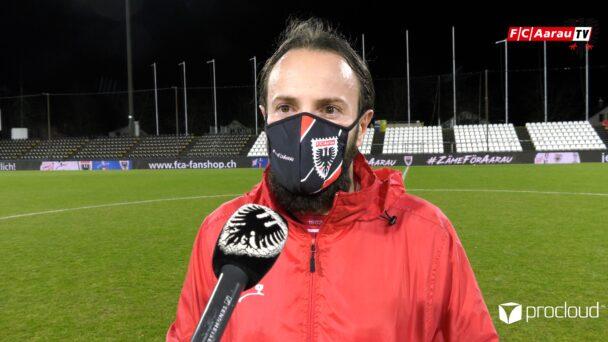 Video-Cover: FC Aarau - FC Wil 3:0 (13.03.2021, Stimmen zum Spiel)