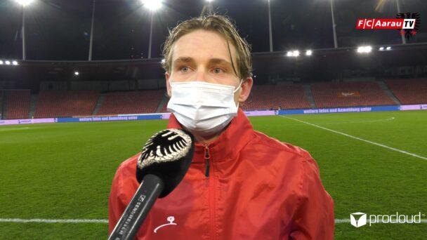 Video-Cover: Grasshopper Club Zürich - FC Aarau 4:1 (19.03.2021, Stimmen zum Spiel)