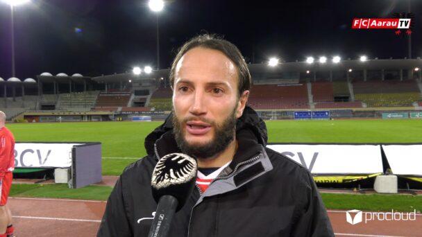 Video-Cover: FC Stade Lausanne Ouchy - FC Aarau 1:1 (16.10.2020, Stimmen zum Spiel)