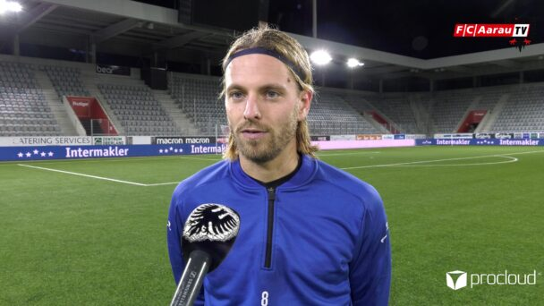 Video-Cover: FC Thun - FC Aarau 1:0 (30.10.2020, Stimmen zum Spiel)